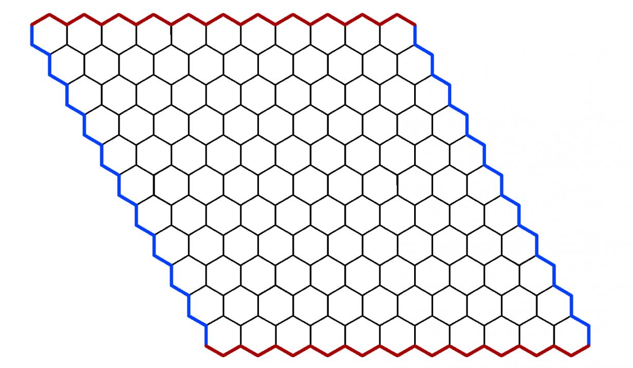 משחק אסטרטגיה למחוננים שאוהבים מתמטיקה - Hex