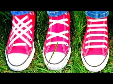איך שורכים נעלים בדרך יצירתית
